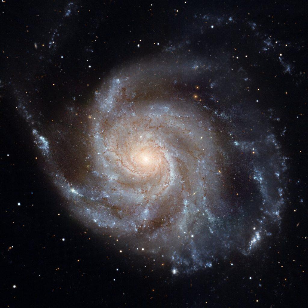Kuva: Nasa, Hubble M101.